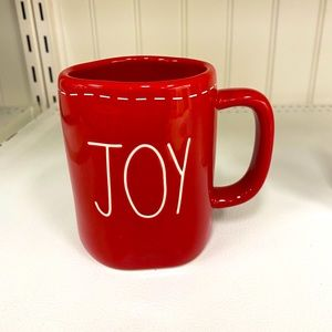 Rae Dunn joy Christmas mug
